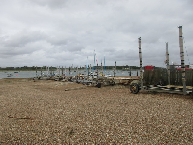 Boat trailers, West Itchenor