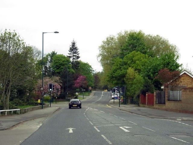 Middlesbrough Road in Guisborough