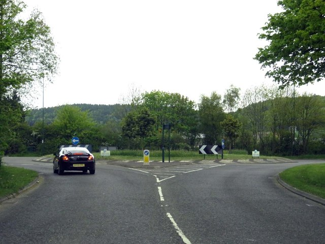 Middlesbrough Road out of Guisborough