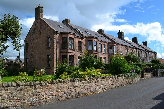 Houses in Ryecroft Way, Wooler