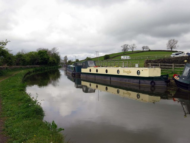 The Leeds & Liverpool Canal near Skipton