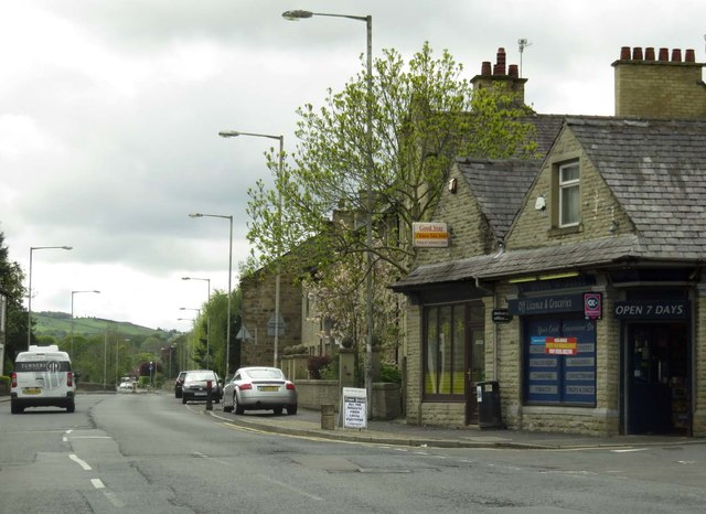 Colne Road in Earby