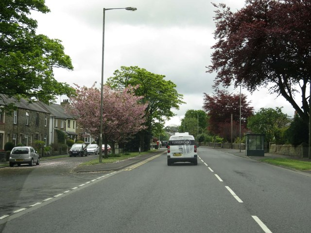 Colne Road in Sough