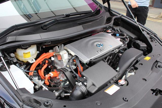 Toyota Mirai car fuel cell