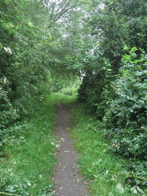 Path beside the Leven Canal