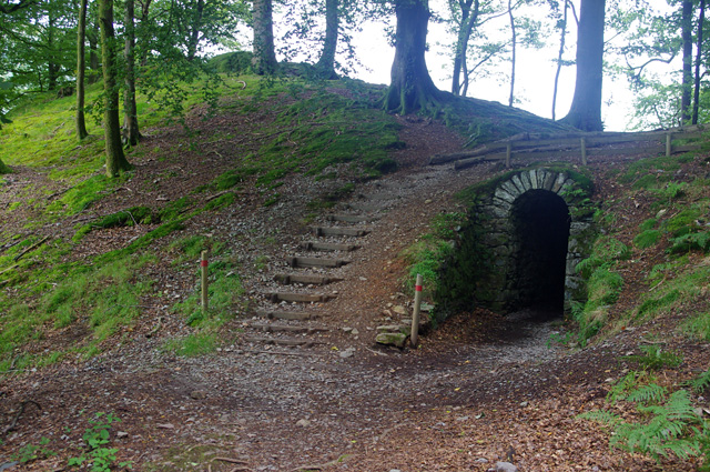 Path and tunnel, Allan Bank