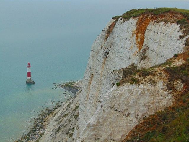 Overlooking Beachy Head Lighthouse