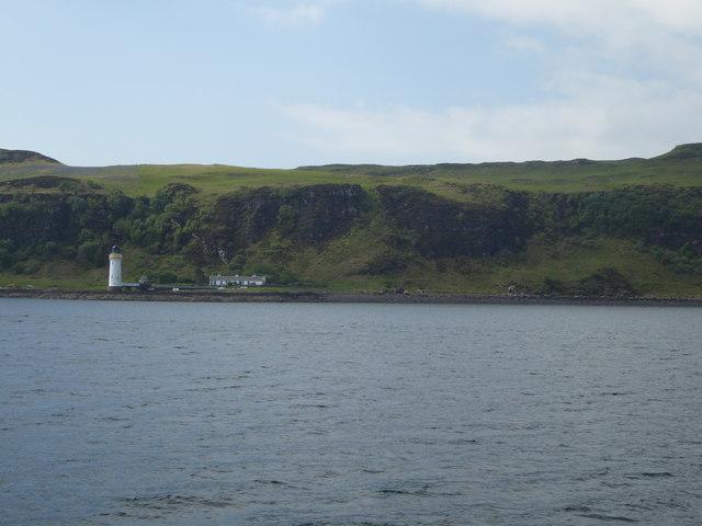 Lighthouse at Rubha nan Gall