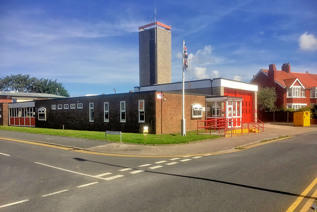 Bispham Fire Station, Red Bank Road