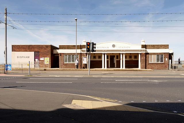 Blackpool Tramway, Bispham Tram Station