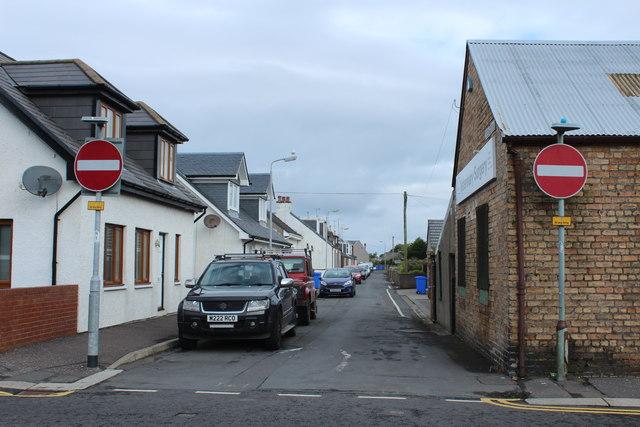 Wesley Place, Girvan