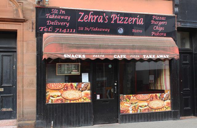 Zehra's Pizzeria, Girvan