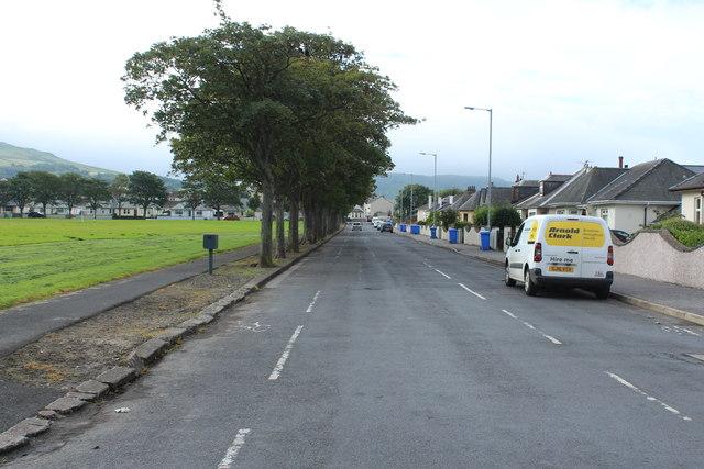 Victory Park Road, Girvan