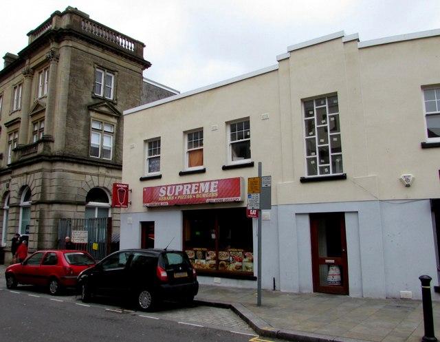 Supreme takeaway in Neath town centre