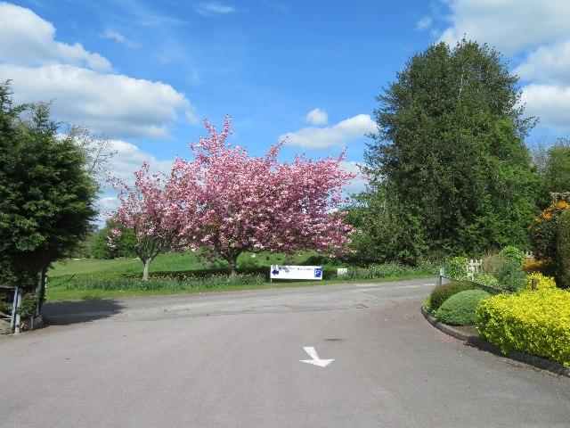 Entrance to Dummer Garden Centre