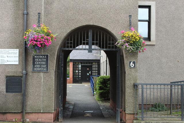 Archway to Health Centre, Maybole
