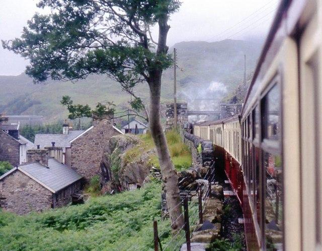 Ffestiniog Railway at Tanygrisiau