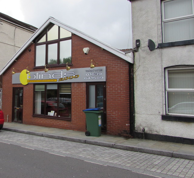 Blinds 2000 shop, 8 Croft Road, Neath