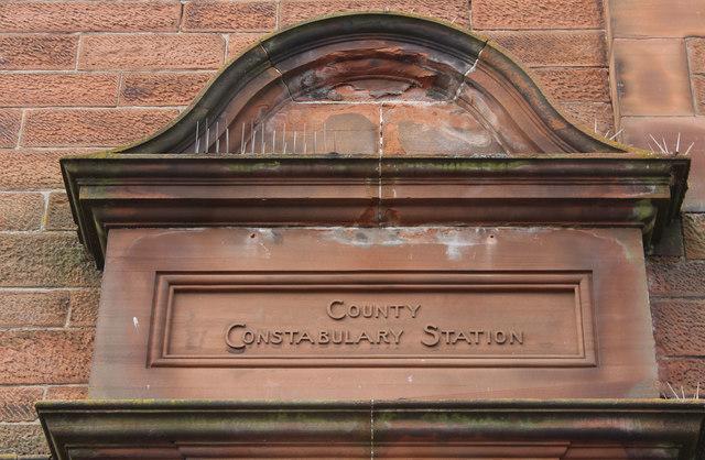 County Constabulary Station, Prestwick