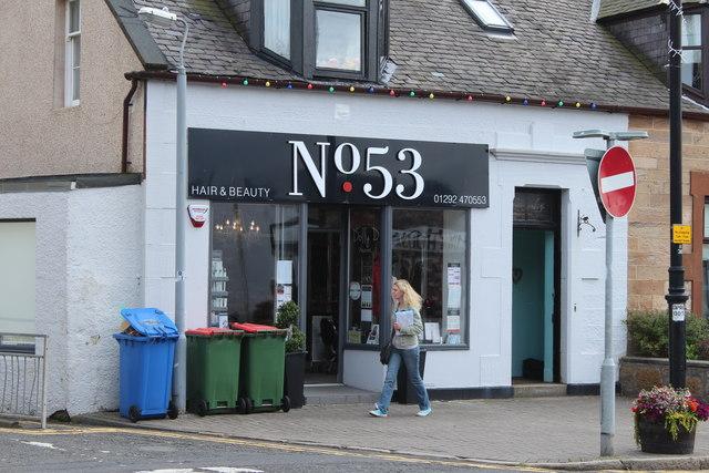 No. 53 Hair & Beauty, Prestwick