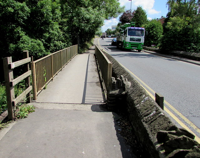Footbridge over the Frome, Yate