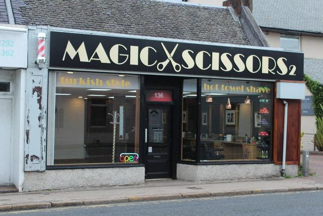 Magic Scissors, Prestwick