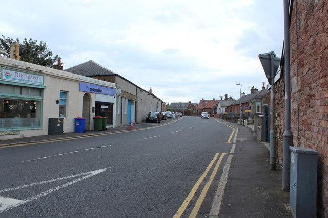 St Quivox Road, Prestwick