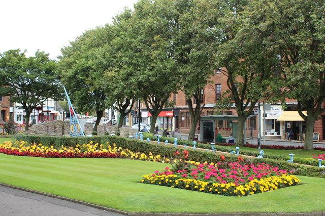 Gardens, Prestwick Cross