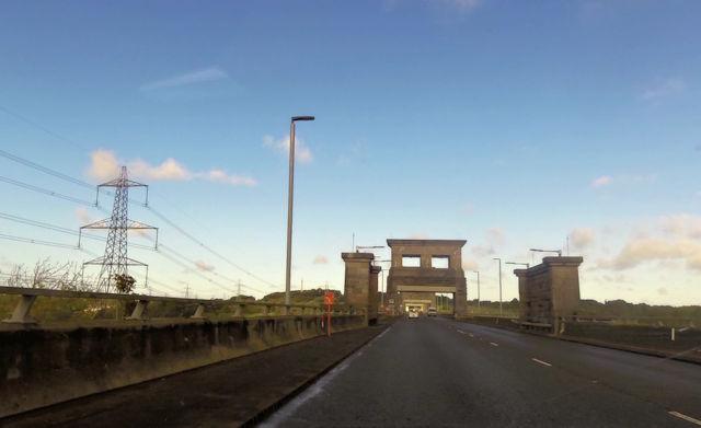 Starting Britannia Bridge crossing