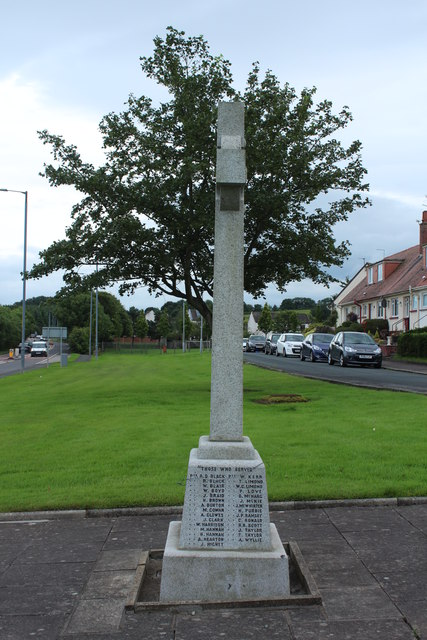 War Memorial, Minishant