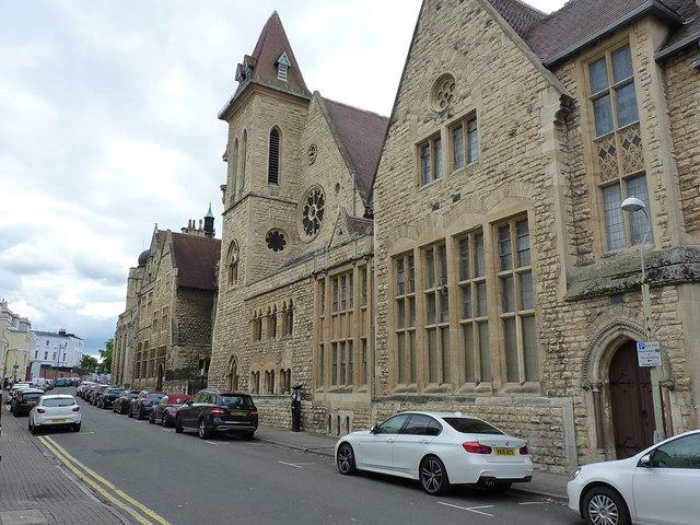 Cheltenham Ladies' College - Montpellier St frontage