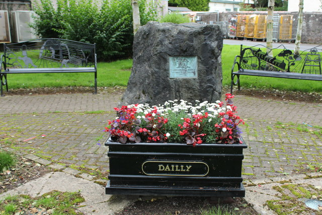 Memorial to the Miners, Dailly