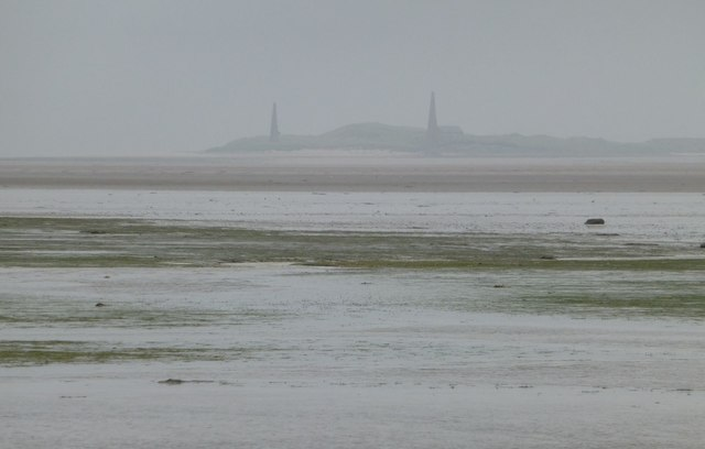 Looking across the Holy Island Sands