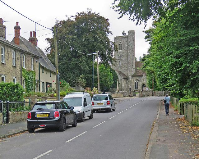 Cheveley High Street