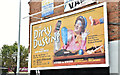 "J3674 : ""Dirty Dusting"" poster, Belfast (August 2017) by Albert Bridge"