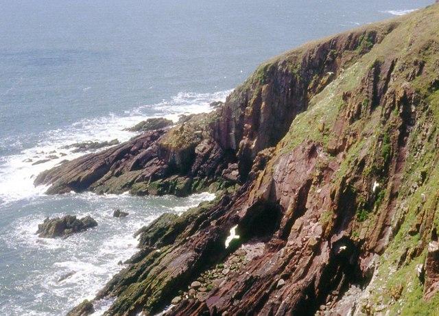 The Flats near Red Berry Bay, Caldey Island