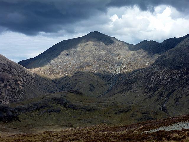 A view towards Garbh-bheinn