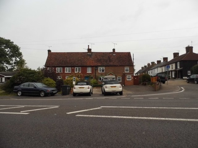 Houses on Epping Road, Ongar