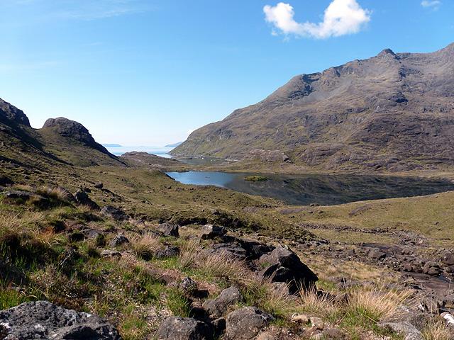 Near Loch Coruisk...