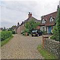 TL6860 : Cheveley: Church Terrace by John Sutton