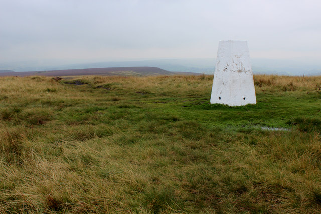 Trig Point on High Brown Knoll