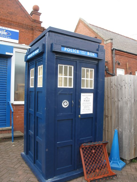 The Tardis at Birkdale Primary