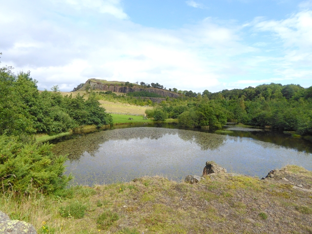 The lake at Walltown Quarry