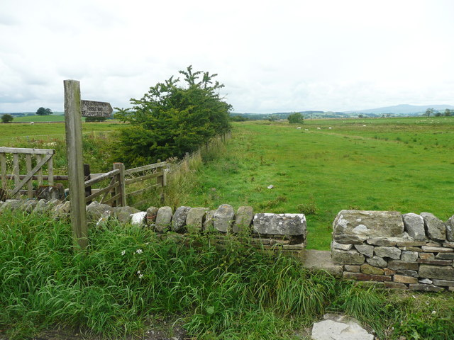 The Ribble Way at Cow Bridge End, Wigglesworth