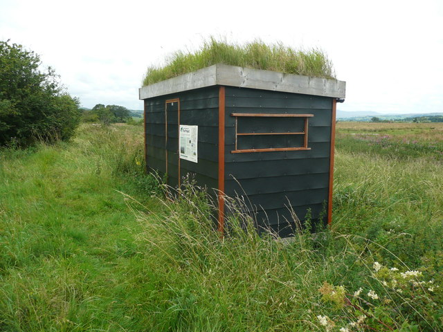 Hut for the Long Preston Floodplain Project, Wigglesworth