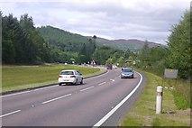 NN9357 : A9, Pitlochry bypass by Richard Webb