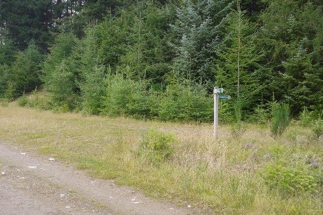 Path signpost, Fonab