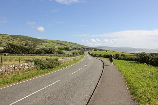 The Wales Coast Path near Egryn Abbey