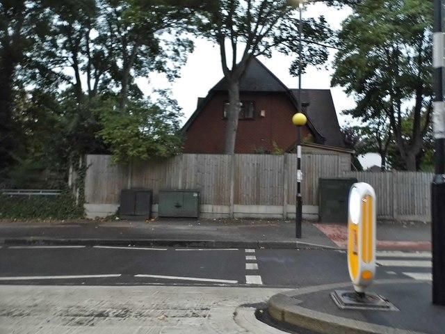 Zebra crossing on Woodford Green