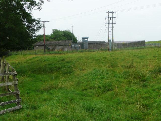 Electricity sub-station, Flat Lane, Long Preston